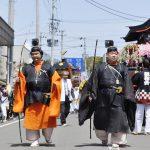 【写真で振り返る春まつり】神明社神輿渡御