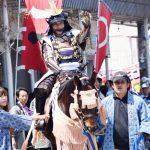 【写真で振り返る春まつり】騎馬武者(ヨシダ朝さん)