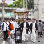 【写真で振り返る平成30年春まつり】神明社神輿渡御